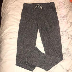 Cozy skinny grey sweatpants